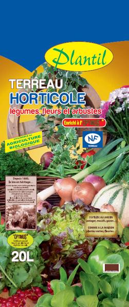 Terreau Horticole Plantil Sorexto Isère