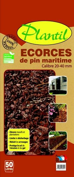 Ecorces de pin maritime Sorexto Isère